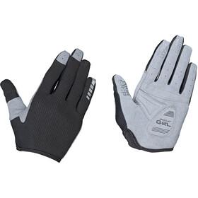 GripGrab Shark Gepolsterte Vollfinger-Handschuhe Damen schwarz/grau
